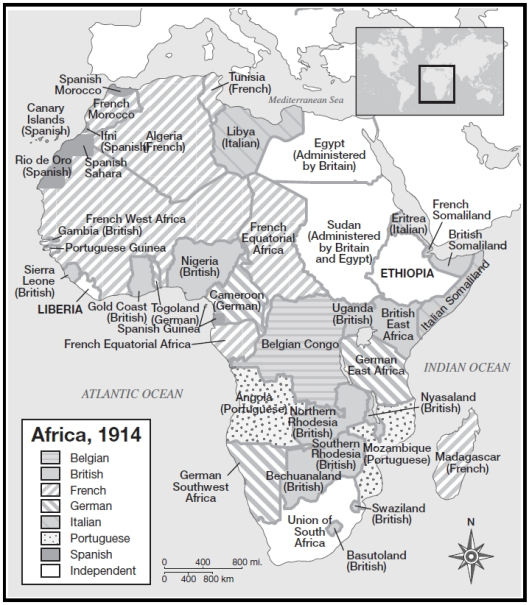 "african scramble essay Africa explain what the ""scramble for africa"" was and then discuss the nature of the colonial political systems that were established on the african continent."